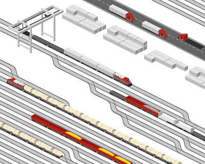 Template-Trains