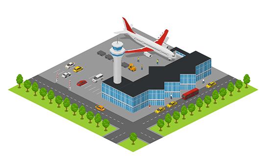 Area - Airport