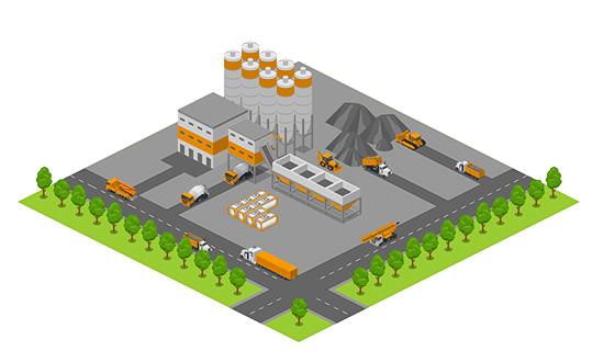 Area - Concrete Factory