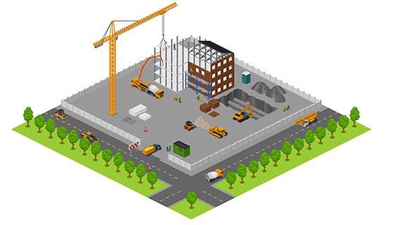 Area - Construction