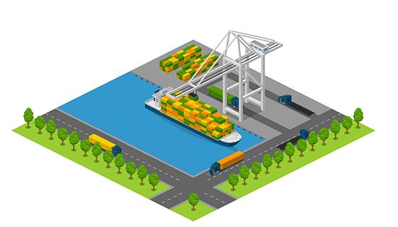 Area - Port