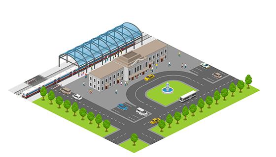 Area - Train Station