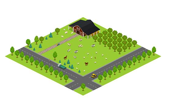 Area - Farm