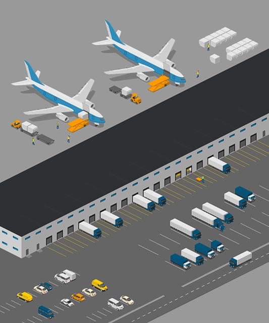 Cargo Airport Warehouse