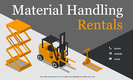 Material Handling Rentals
