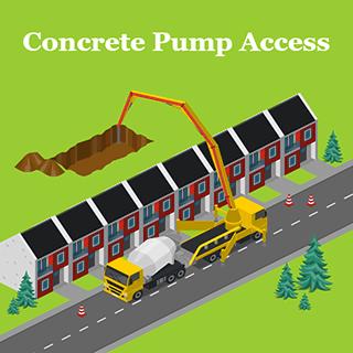 Concrete Pump Access