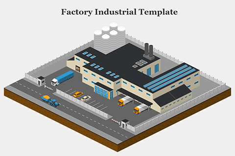 Factory Industrial Template