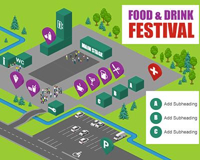 Festival Map Food&Drink