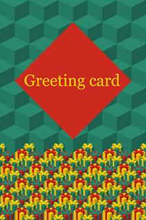 Greeting Card Green