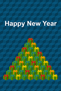 Card New Year