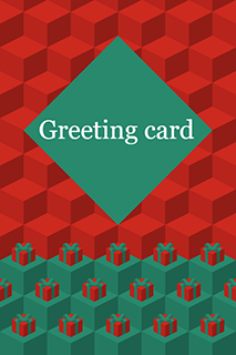 Greeting Card Red