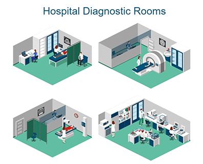 Hospital Diagnostic Rooms