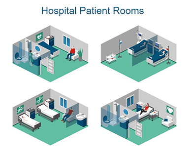 Hospital Patient Rooms