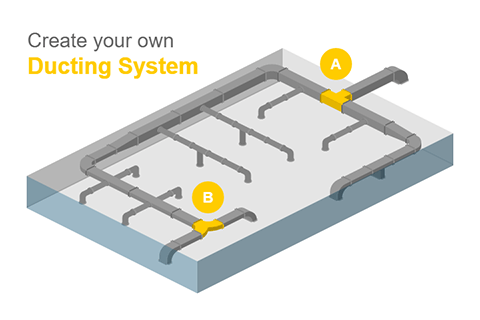 Create Ducting System