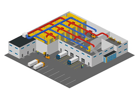 Warehouse Ducting System