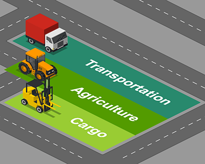 Transportation - Agriculture - Cargo