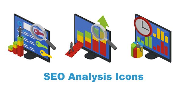 SEO Analysis Icons