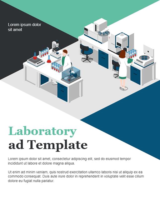 Laboratory Advertisement