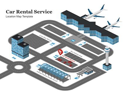 Car Rental Service Location Map