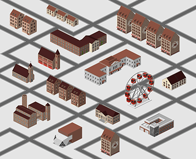 City Directional Map