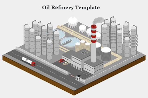 Oil Refinery Template