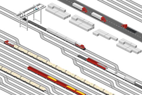 Cargo Train Station