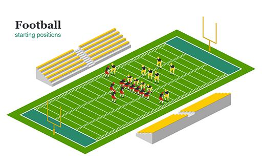 Football Starting Positions