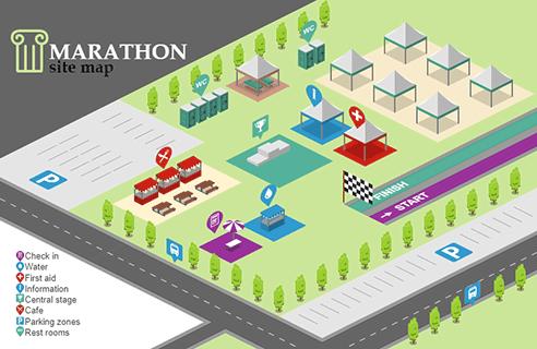 Marathon Site Map