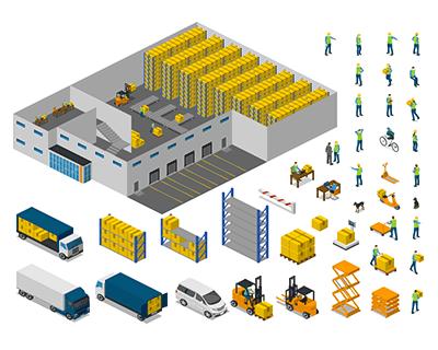 Warehouse Icons