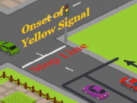 Dilemma Zone Detection in Four Arm signalised Intersection [Example is for the right-hand driving condition] (Hussain et al., 2020; Pathivada & Perumal, 2019; Zhang et al., 2014)
